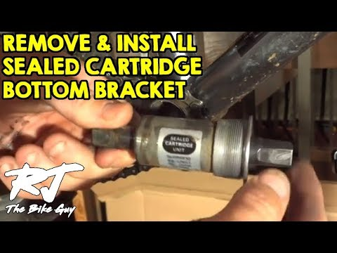 How To Remove/Install Sealed Cartridge Bottom Bracket