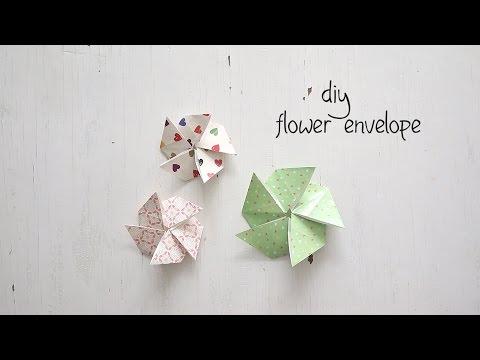 How to Fold Flower Envelope