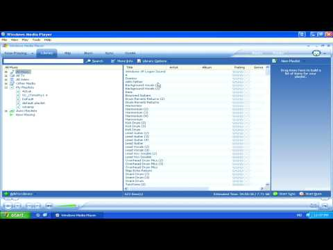 Computer Help : How Do You Make a Music Mix on Windows Media Player?