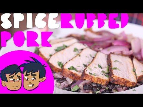 Blue Apron Top Chef Contest: Spice Rubbed Pork