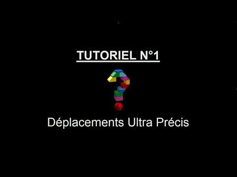 [Lego LDD] Tutoriel - Déplacements Ultra Précis | 1