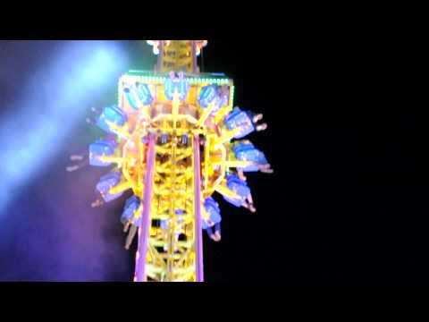 Houston Livestock and Rodeo Show 2011 Fast Drop Ride