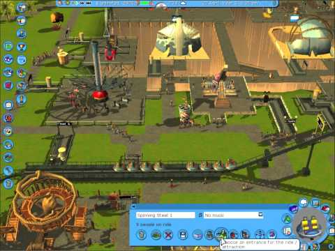 Rollercoaster Tycoon 3 Platinum for Mac Apple in depth review