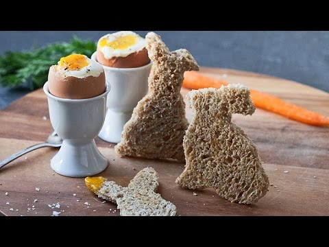 How to Make Chicks & Bunnies (Soft-Boiled Eggs & Soldiers)