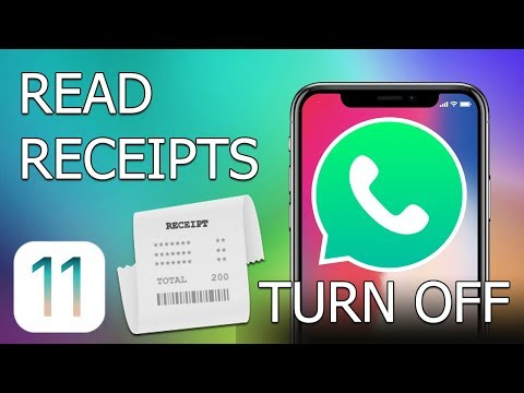 How to turn off read receipts in WhatsApp for iPhone (iOS 11)