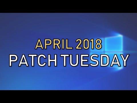 Windows 10 Patch Tuesday April 2018