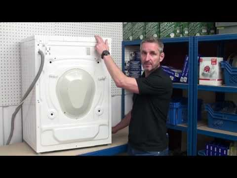 How to replace a washing machine belt