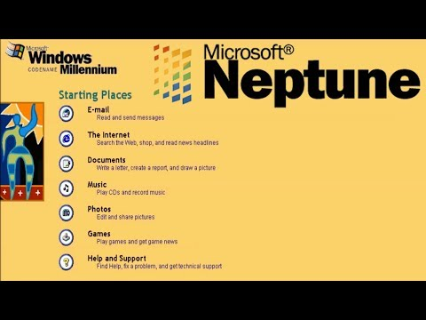 microsoft neptune - a version of windows never released