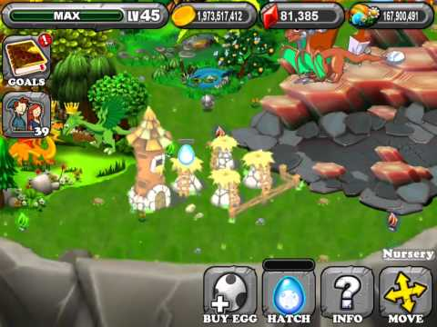 Dragonvale how to breed the Blue moon dragon