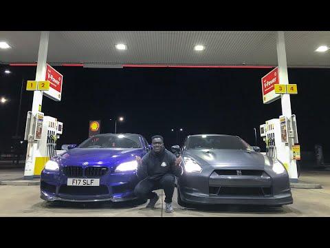 BMW M6 VS NISSAN GTR  *MANS NOT STOCK*