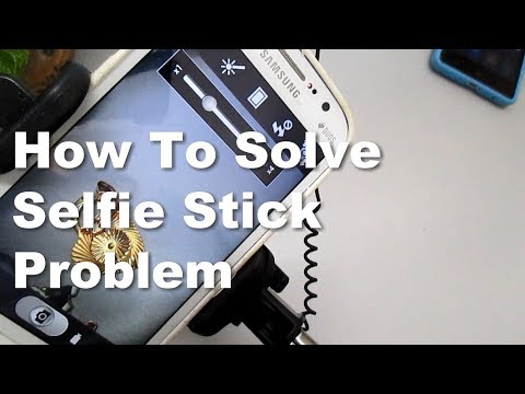 How to Solve Android Phone selfie stick problem via Volume Buttons function or Play Store Apps