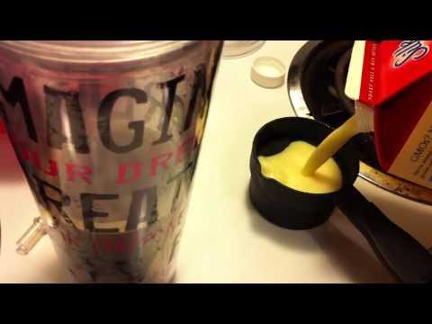 Iced Eggnog Latte