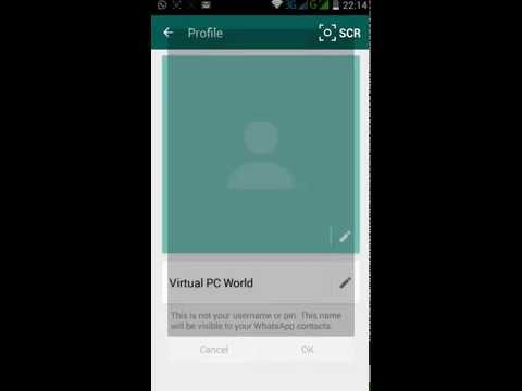 How to Change WhatsApp Profile Picture (DP)