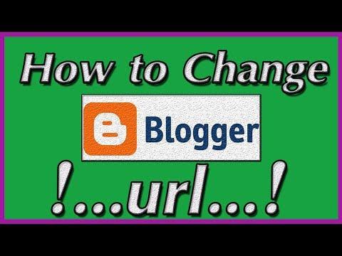 change blogger url [ hindi / urdu ]