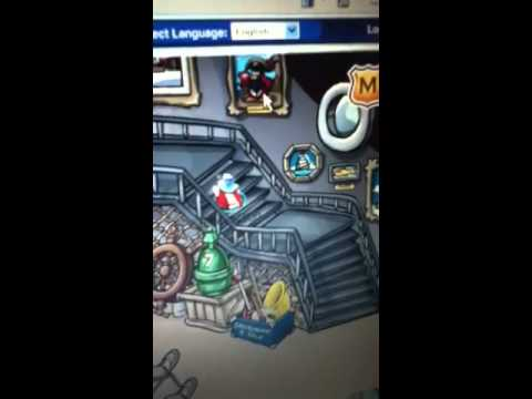 Where to find rockhopper on club penguin
