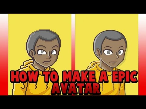 [2018]How to make a EPIC avatar profile pic for your youtube channel on ANDROID/IOS
