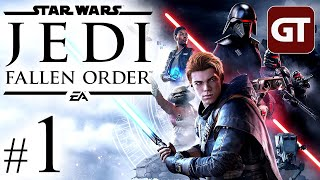 Star Wars Jedi: Fallen Order German #1 - Let's Play Jedi Fallen Order Deutsch PC