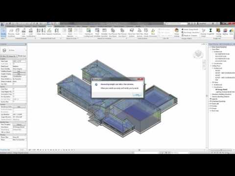Revit  2017: Optimize Building Performance Outcomes with Autodesk Insight 360