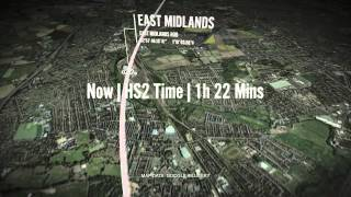 HS2 phase two initial preferred route flyover