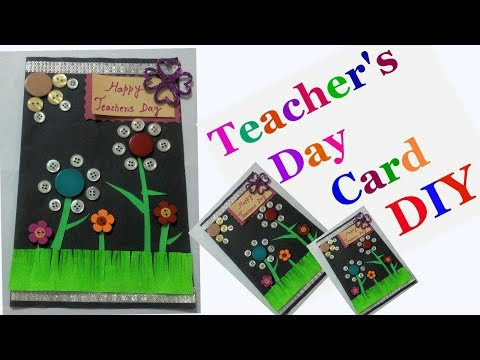 DIY-Teachers day greeting card making ideas for kids | easy handmade cards for teachers day