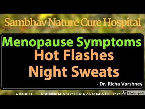 Hot Flashes After Menopause Acupressure Treatment Home Remedies in Hindi (मेनोपॉज)