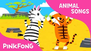 Whose Tails? | Animal Songs | PINKFONG Songs for Children