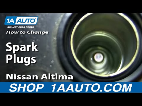 How To Change Spark Plugs 2002-06 2.5L Nissan Altima