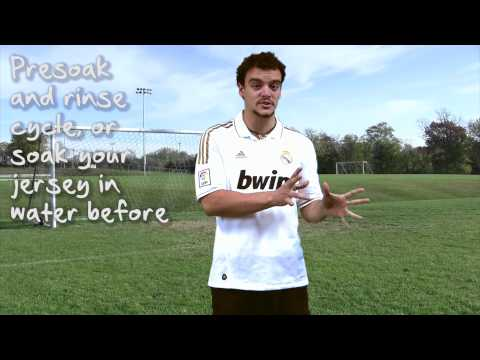 How to Wash Your Jersey Video Review - SoccerPro.com