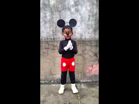 homemade mickey mouse with intro .
