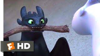 How to Train Your Dragon 3 (2019) - Flirting Fail Scene (3/10) | Movieclips