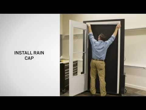 How To Install Storm Doors with the 2 Hour Easy Installation System