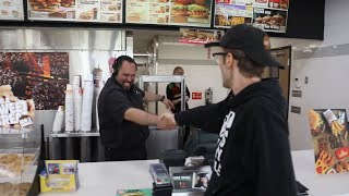RAPPING MY ORDER AT FAST FOOD RESTAURANTS!