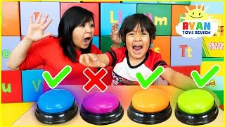 Download Don't Push The Wrong Button Challenge with Ryan ToysReview Video