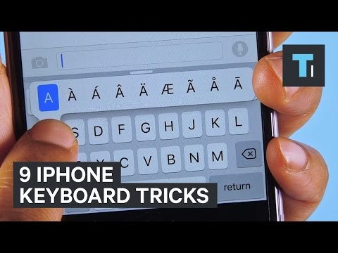 9 iPhone keyboard tricks
