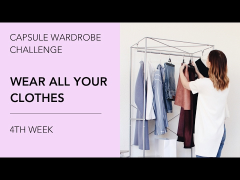 Capsule Wardrobe Challenge: Wear All Your Clothes. 4th Week.