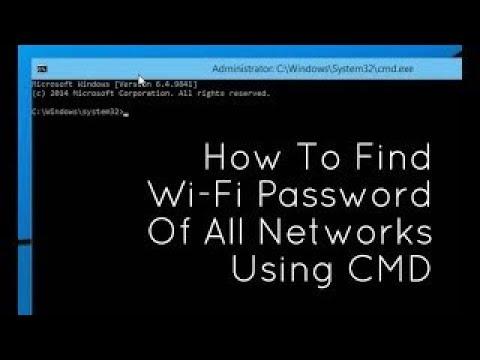 How To Know WiFi Password If Already Connected | Windows 7 | Windows 8 | Windows 10 | Xp | Vista