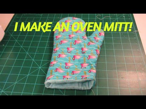 I make an oven mitt!