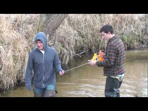 Calculating Stream Flow Rate
