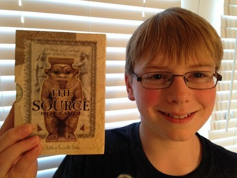 11-yr-old eats The Source (7.1 million Scoville)! : Hot Sauce Review, Crude Brothers