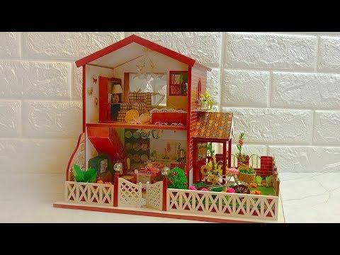 DIY Miniature Dollhouse Kit  Peaceful Time