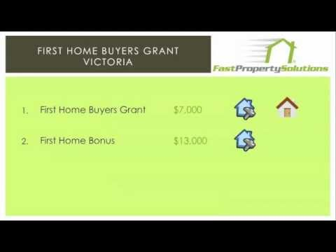 First Home Buyers Grant victoria - How much is it?