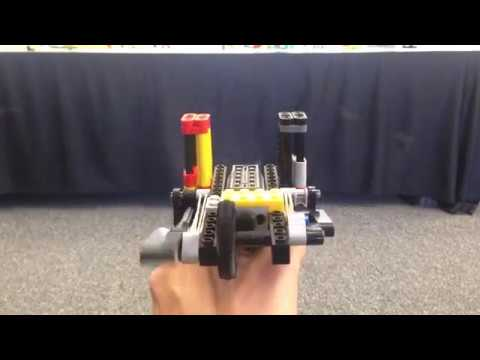 Lego Double-barrel Automatic Pistol