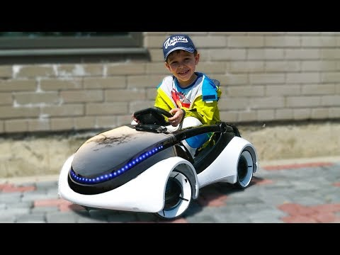 Unboxing and Assembling Power Wheels ride on APPLE CAR Fun playtime Power Wheel Cars video for kids