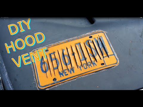 DIY Hood Vent (Rice Truck)