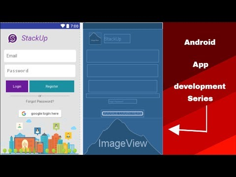 Android app development tutorial #23(Android chat application activity )