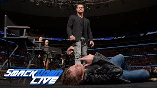 Chaos threatens as Ambrose & Ziggler engage in war of words on Miz TV: SmackDown Live, Aug 16, 2016