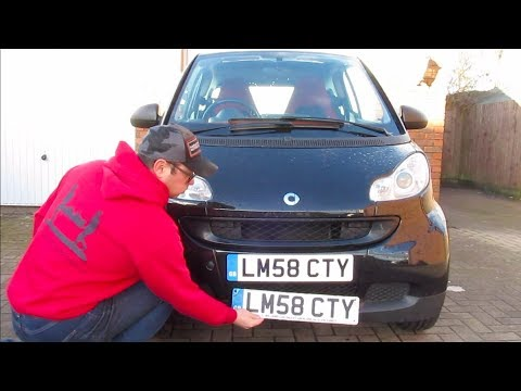 How To Replace Damaged Number Plates