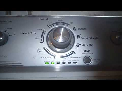 How to Run Diagnostics and Read Error Codes on a Maytag Washer