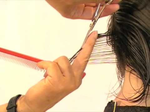 Short Layer Haircut Step by Step