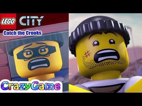 LEGO City Elite Police Station Catch the Crooks Full Mini Movie Complition